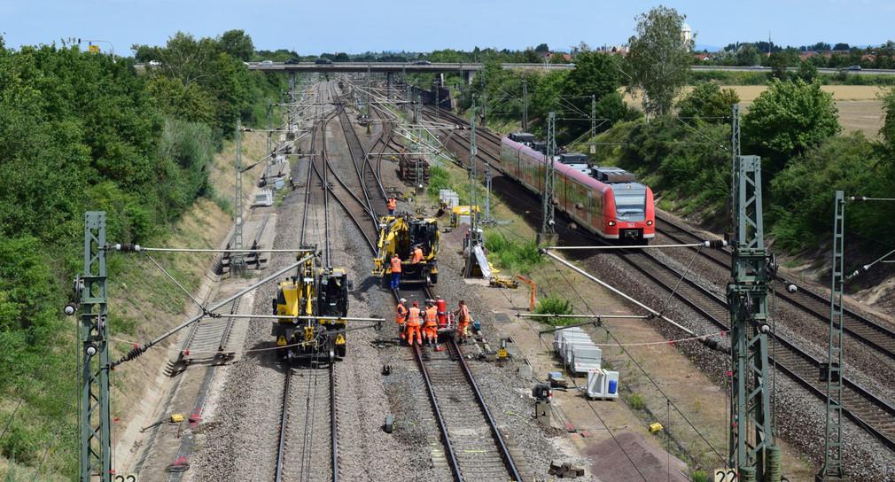 Bahnstrecke Mannheim Stuttgart