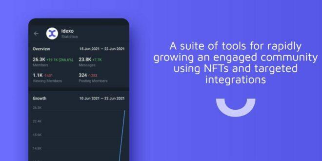 Idexo führt CDK ein, das es Kunden ermöglicht, NFTs auf Telegram und Twitter zu prägen