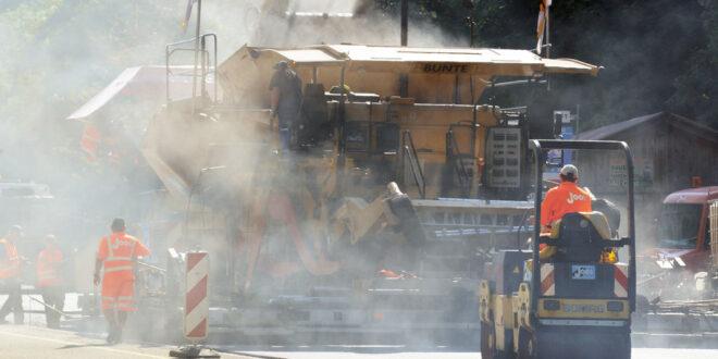 In Besigheim beginnt der Ersatzbau der Enzbrücke der B27