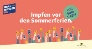Informations- und Aktionskampagne zum Thema Impfen wird in Pforzheim fortgesetzt