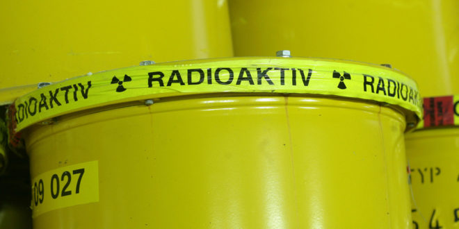 Informationsereignisse bei der Suche nach einem Standort für ein nukleares Endlager