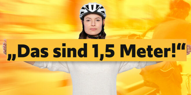 """Kampagne """"Vorsicht, Rücksichtnahme, Sorgfalt"""" zur Fahrradsicherheit"""