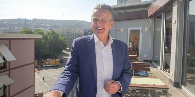 Frank Nopper will Stuttgarts neuer Oberbürgermeister werden. Das sind seine Positionen: ... Foto: Lichtgut/Max Kovalenko