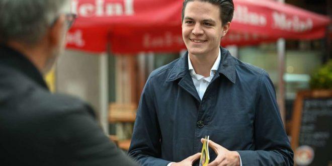 Marian Schreier will neuer Oberbürgermeister von Stuttgart werden. Das sind seine Positionen: ... Foto: Leif Piechowski/Leif Piechowski