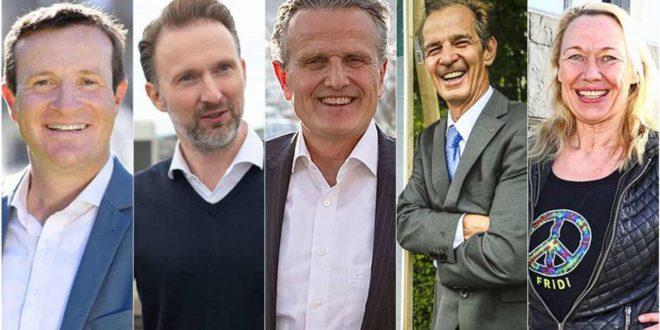 Körner, Reutter, Nopper, Ressdorf und Miller: Die Stuttgarter Bürgermeisterkandidaten sehr persönlich