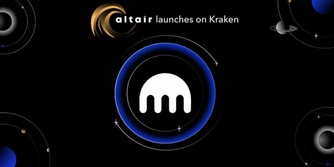Kraken unterstützt den Altair-Crowdloan auf Kusama