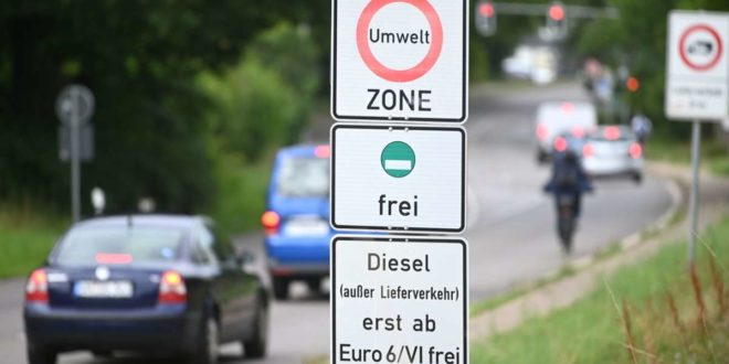 Diesel unterhalb der Euronorm sechs müssen in Stuttgart vielerorts draußen bleiben – ungeachtet der Coronakrise. Foto: dpa/Marijan Murat