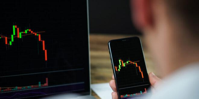 Krypto-exponierte Aktien spüren ebenfalls den Rückgang