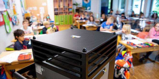 Land fördert Luftfilter und CO2-Sensoren in Schulen und Kitas