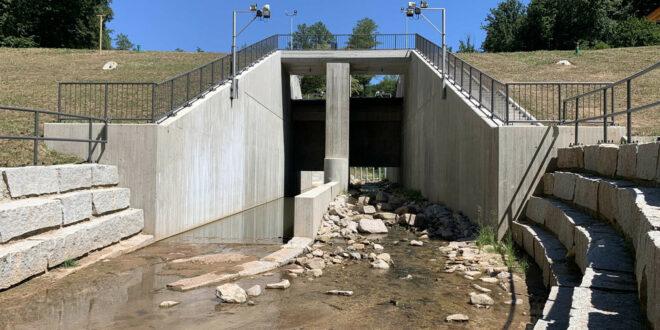 Land fördert Sanierung von Hochwasserrückhaltebecken