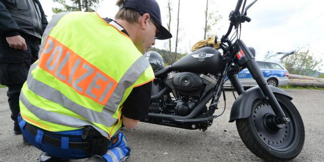 Land geht gegen Motorradlärm vor