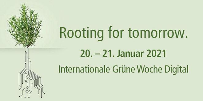 Land nimmt an der International Green Week Digital 2021 teil