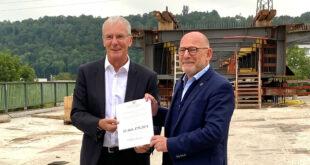 Land unterstützt Esslingen bei der Modernisierung der Brücken