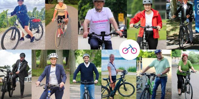 Landesministerien radeln gemeinsam auf CITY CYCLING
