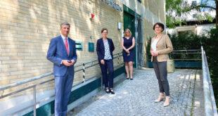 Leidig besucht die Gewaltklinik in Freiburg