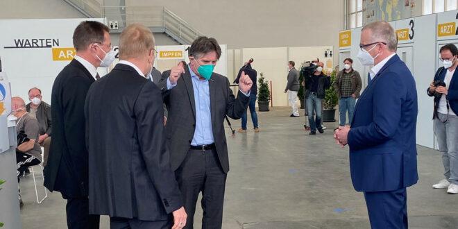 Liebherr führt ein Pilotprojekt zur Impfung durch