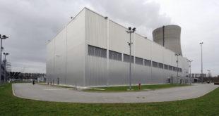 Restmaterialverarbeitungszentrum im in Betrieb befindlichen Kernkraftwerk Philippsburg