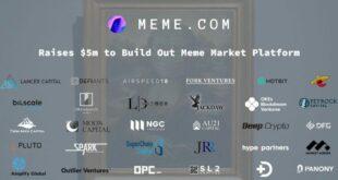 Meme.com beschafft 5 Millionen US-Dollar, um die erste Meme-Marktplattform zu starten
