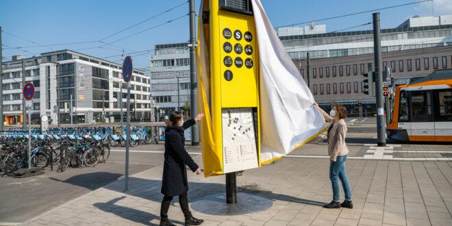 Mobilitätspfeiler in Heidelberg machen die Verkehrswende sichtbar