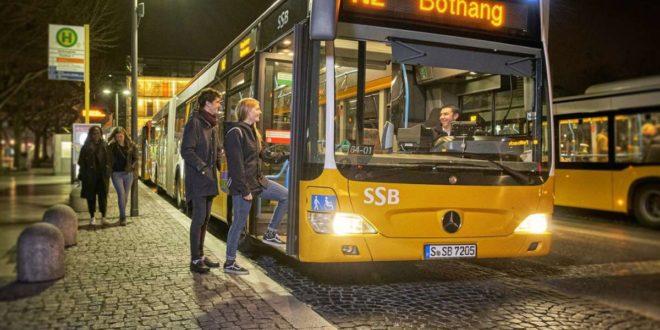 Für die Nachtbusse werden spätere Abfahrtszeiten beantragt. Foto: /Dirk Kittelberger