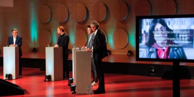 Netzwerkreaktionen auf die Stuttgarter OB-Wahldiskussion: Wie das Rededuell von den Wählern aufgenommen wurde