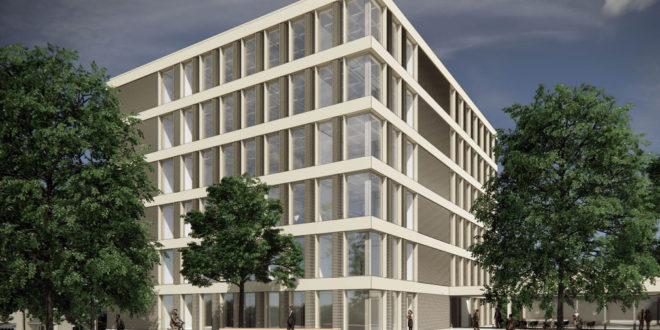 Neubau für die Wirtschaftsabteilung der Universität Aalen