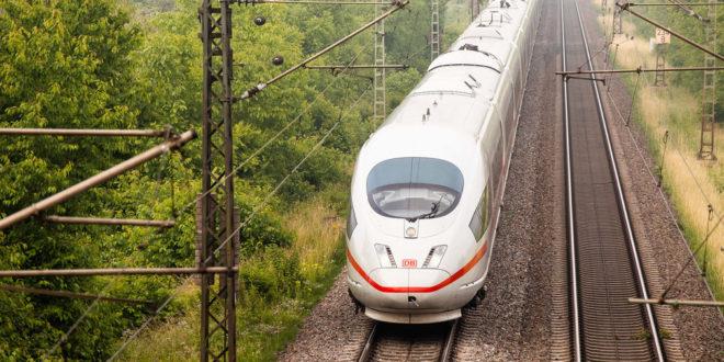 Neue Eisenbahnlinie zwischen Frankfurt und Mannheim