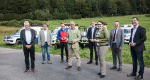 Neue Fahrzeuge für die Bergrettung Schwarzwald