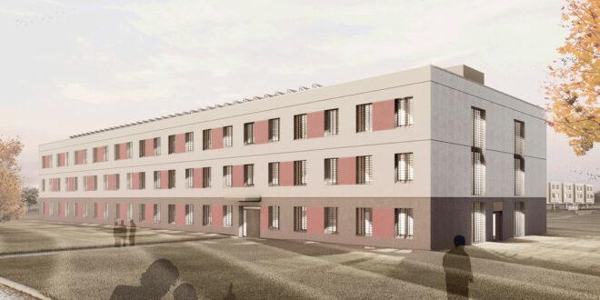 Neue Gefängnisgebäude für drei Gefängnisse