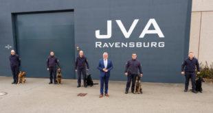 Neue Spürhunde für das Strafvollzugssystem