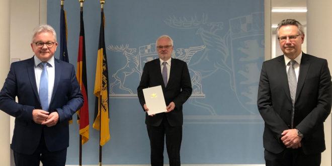 Neuer Präsident des Landgerichts Heidelberg