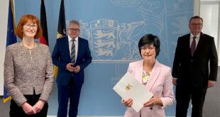 Neuer Vizepräsident am Stuttgarter Oberlandesgericht