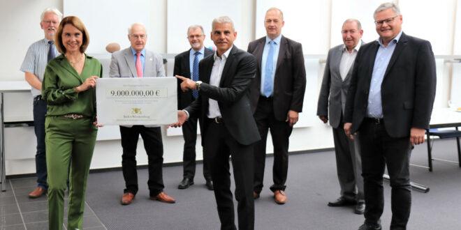 Neun Millionen Euro für die neue Blasmusikakademie in Staufen