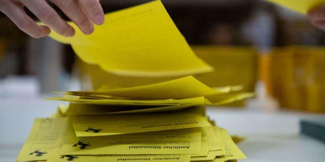 Auf vielen Stimmzetteln kreuzten die Stuttgarterinnen und Stuttgarter den Namen Frank Nopper an. Foto: Lichtgut/Leif Piechowski