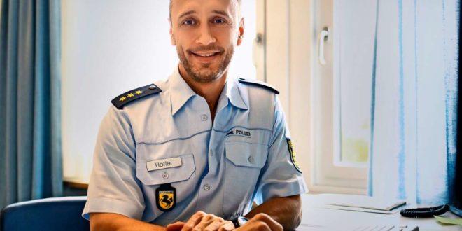 Mit 44 neuer Chef der uniformierten Stuttgarter Polizeibeamten: Carsten Höfler. Foto: Polizei Stuttgart