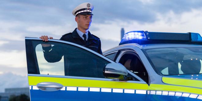 Polizeikoronagleichgewicht am Wochenende
