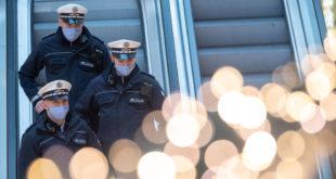 Corona Balance der Polizei vom Wochenende