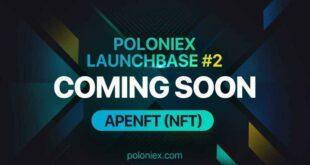 Poloniex LaunchBase startet mit APENFTs Native Token NFT neu