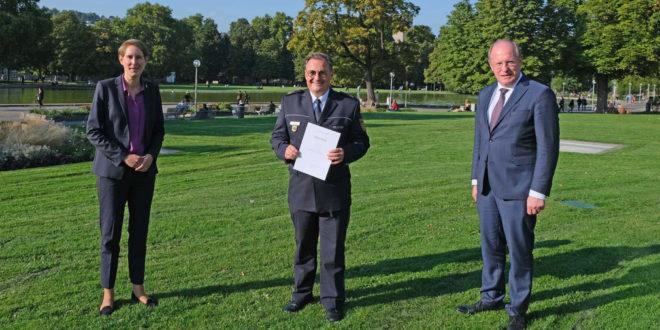 Präsidium für Technik, Logistik und Polizeidienst unter neuer Leitung