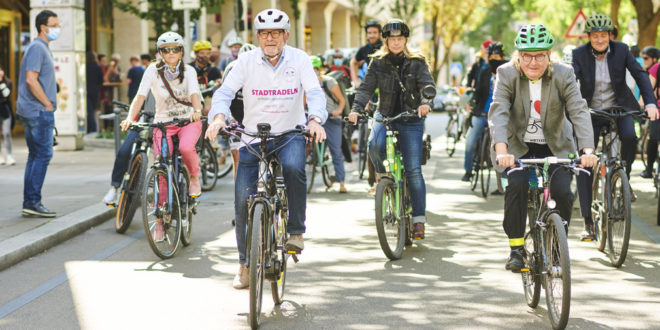 Rekordbeteiligung am CITY CYCLING in Stuttgart