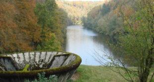 Rund 3,4 Millionen Euro für die Sanierung des Beimbach-Hochwasserrückhaltebeckens in Rot am See