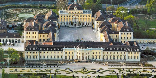 Sitzmann besucht Schlösser in Ludwigsburg