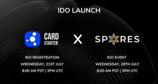 Spores Network startet Cardstarter IDO am 23. Juli