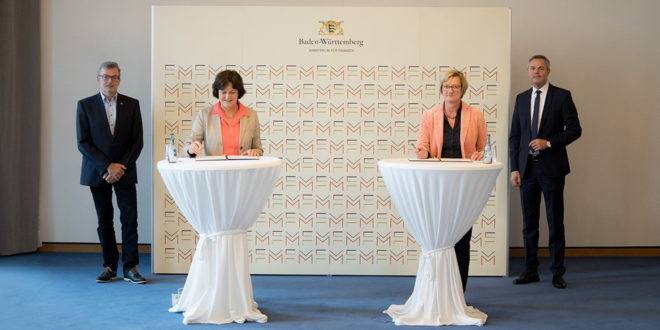 Staat und Baden-Baden erweitern die Zusammenarbeit