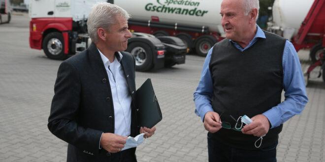 Staatssekretär Rapp besucht Speditionen und Logistikunternehmen
