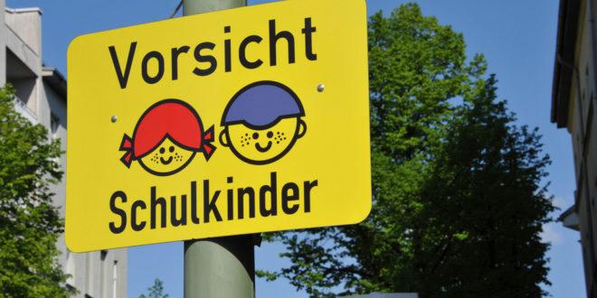 """Start der Kampagne """"Sicherer Weg zur Schule"""""""
