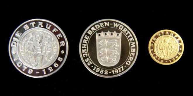 Staufer-Medaille für Prof. Dr. Erwin Beck