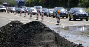 Straßenbau trotz Koronakrise
