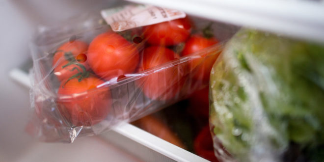 Umweltfreundliches Recycling von verpackten Lebensmittelabfällen