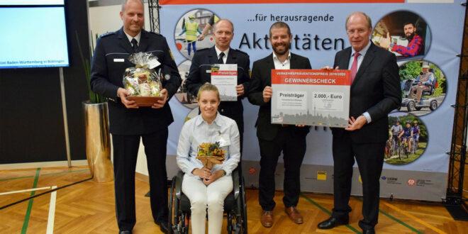 Verleihung des Verkehrspräventionspreises GIB ACHT IM VERKEHR 2019/2020